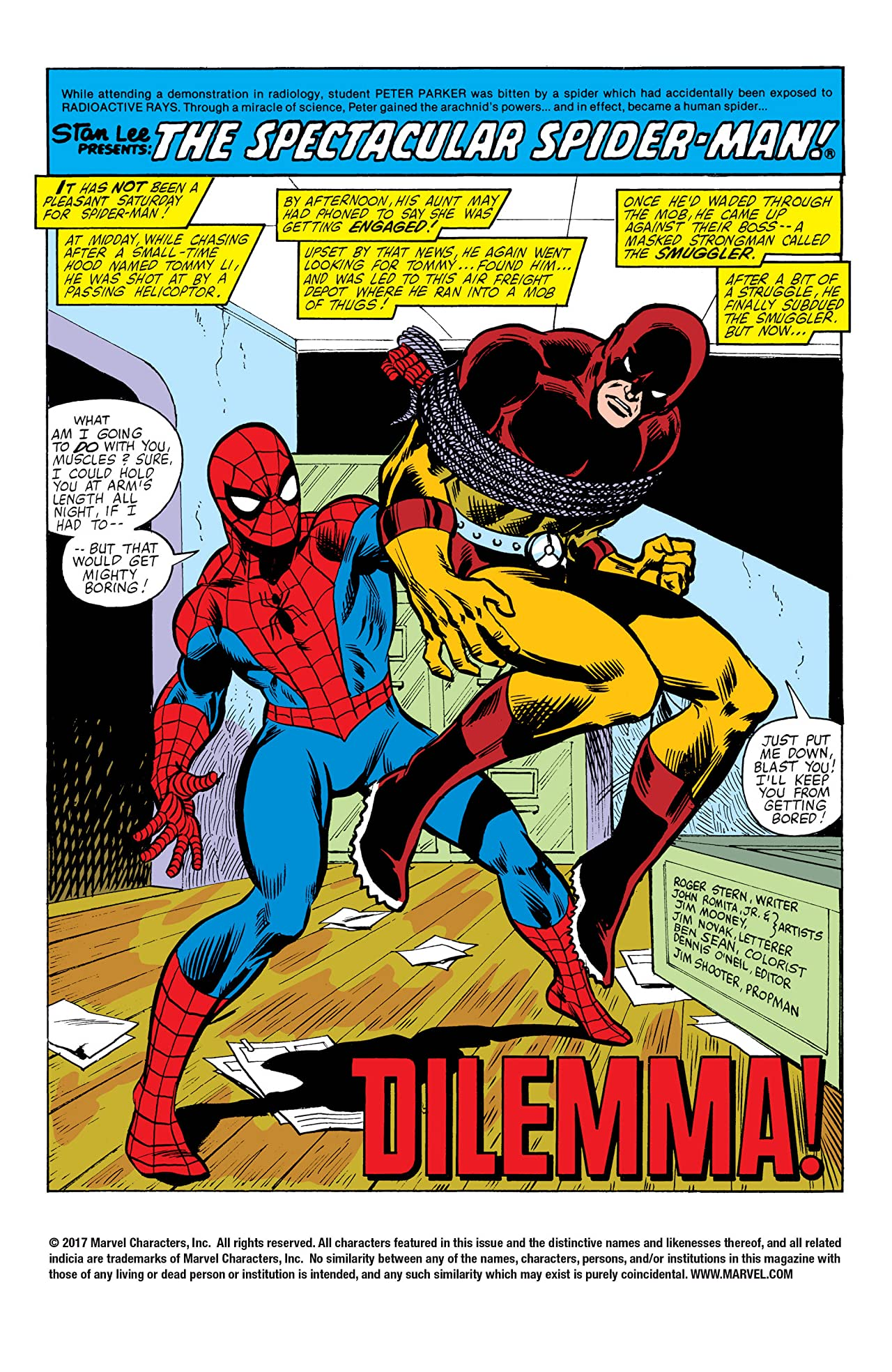 Peter Parker, The Spectacular Spider-Man (1976-1998) #50
