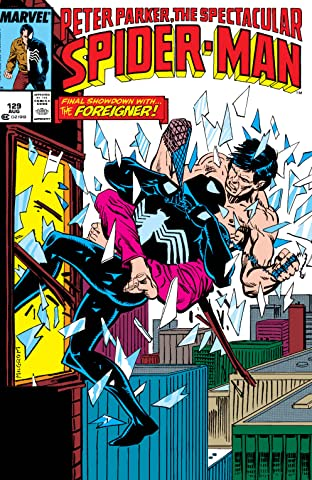 Peter Parker, The Spectacular Spider-Man (1976-1998) #129