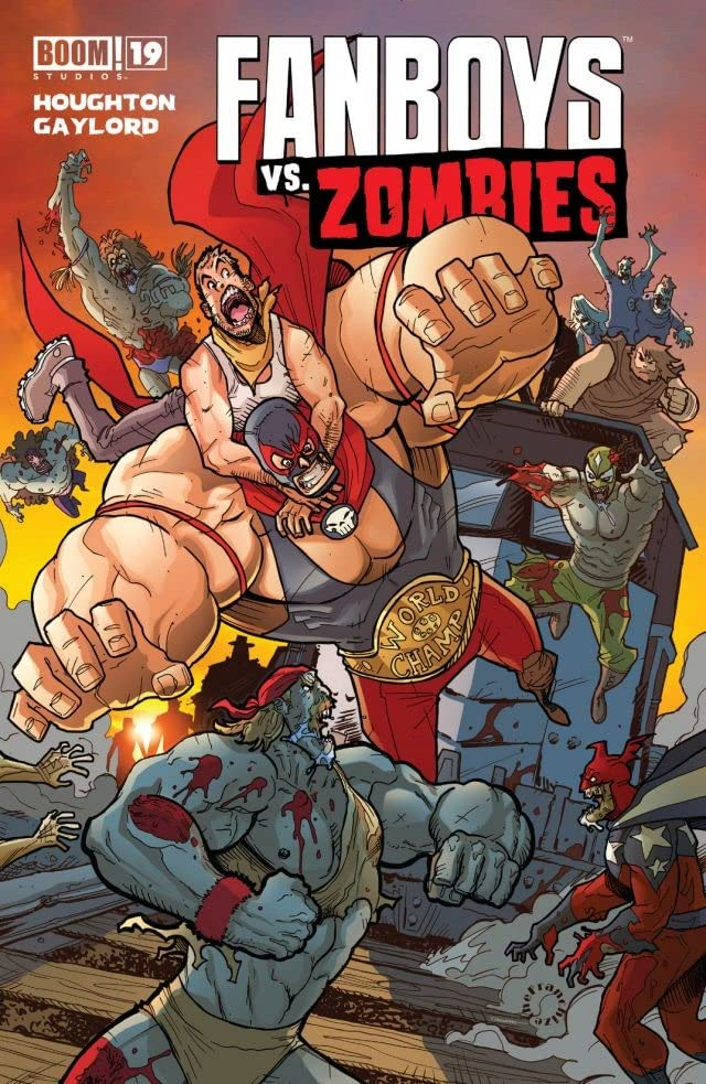 Fanboys vs. Zombies #19