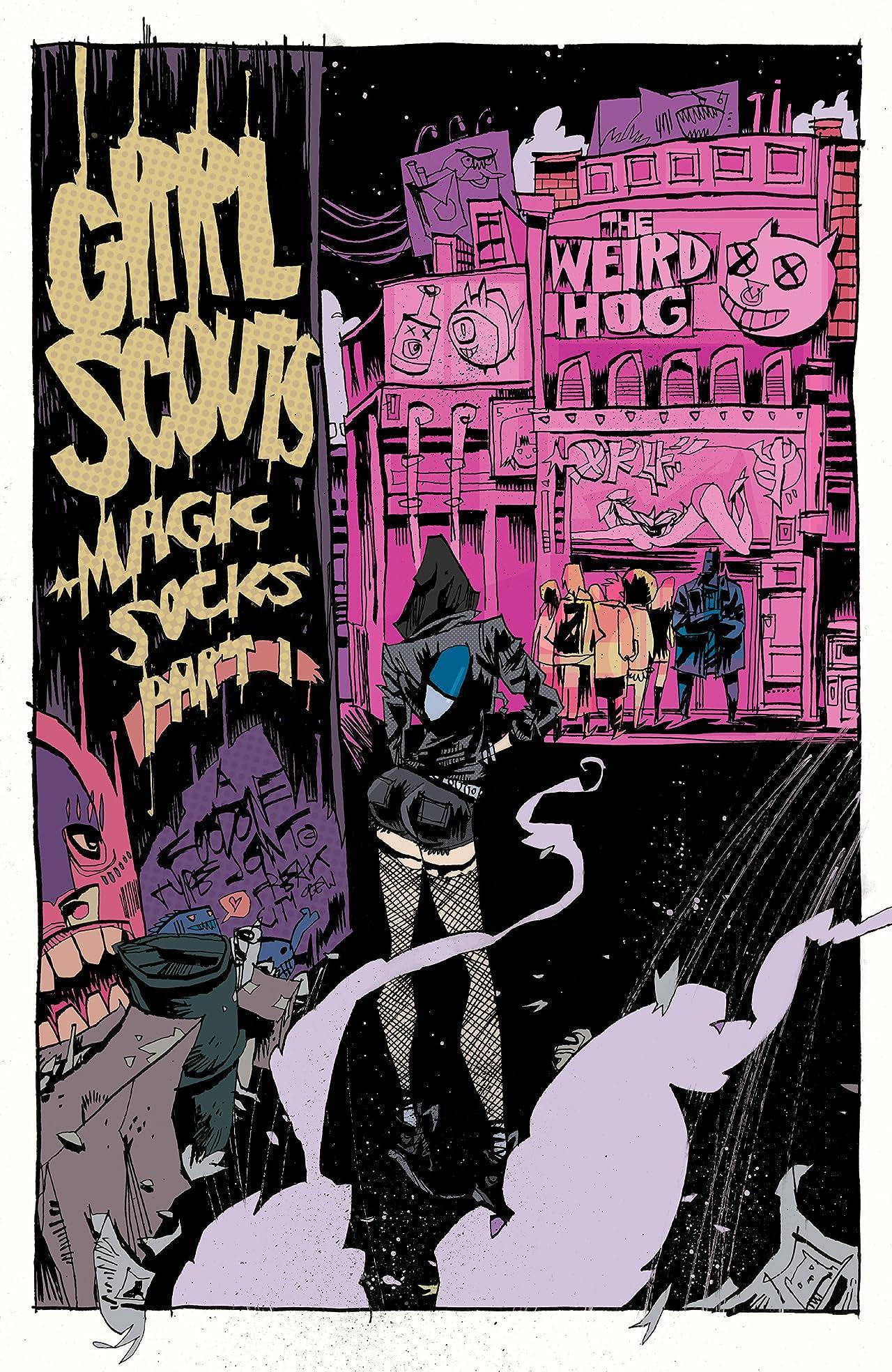 Grrl Scouts: Magic Socks #1