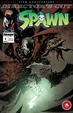 Spawn #1: 25th Anniversary Director's Cut