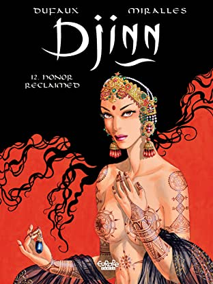 Djinn Tome 12: Honor Reclaimed
