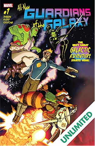 All-New Guardians Of The Galaxy (2017-) #1