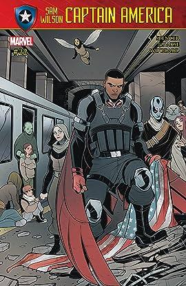 Captain America: Sam Wilson (2015-2017) #22