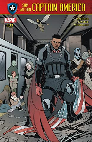 Captain America: Sam Wilson (2015-) #22