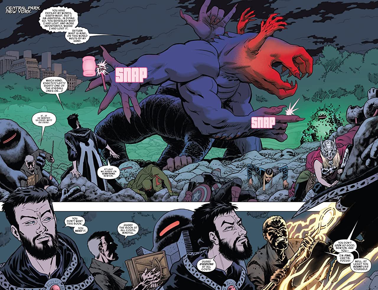 Doctor Strange and the Sorcerers Supreme (2016-) #8