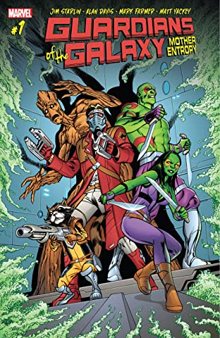 Guardians of the Galaxy: Mother Entropy (2017) No.1 (sur 5)