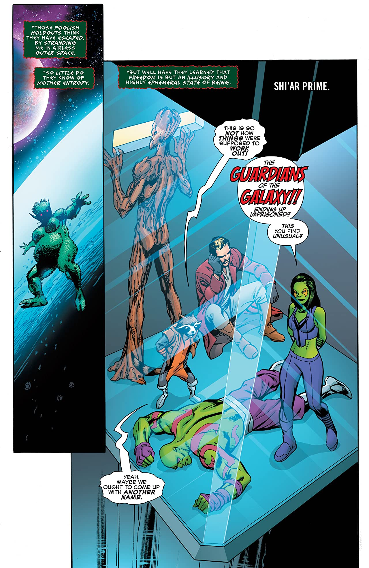 Guardians of the Galaxy: Mother Entropy (2017) #4 (of 5)