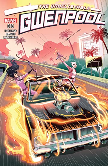 Gwenpool, The Unbelievable (2016-) #15