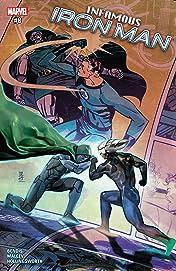 Infamous Iron Man (2016-2017) #8