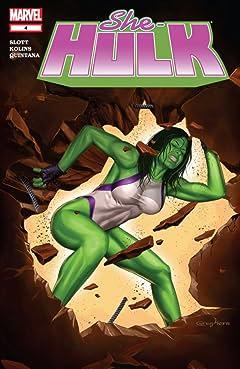 She-Hulk (2005-2009) #4