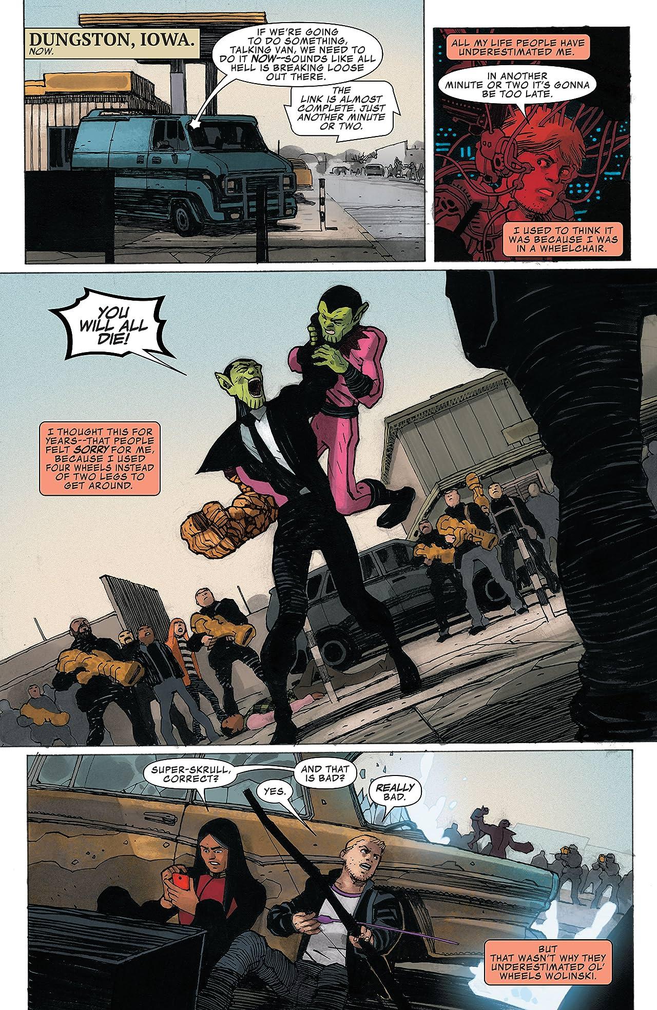 Occupy Avengers (2016-2017) #7