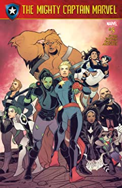 The Mighty Captain Marvel (2016-2017) #5