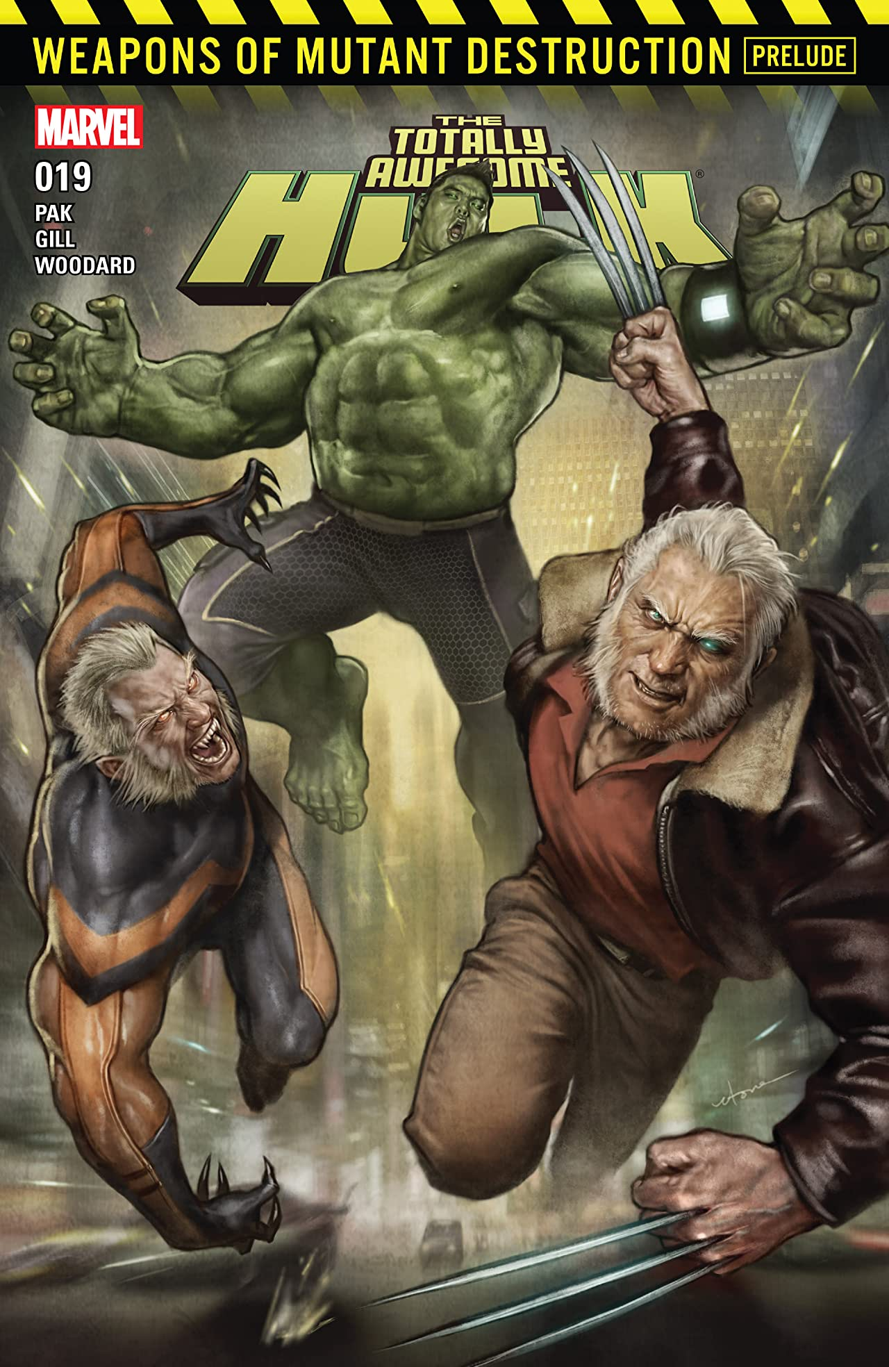 The Totally Awesome Hulk (2015-2017) #19