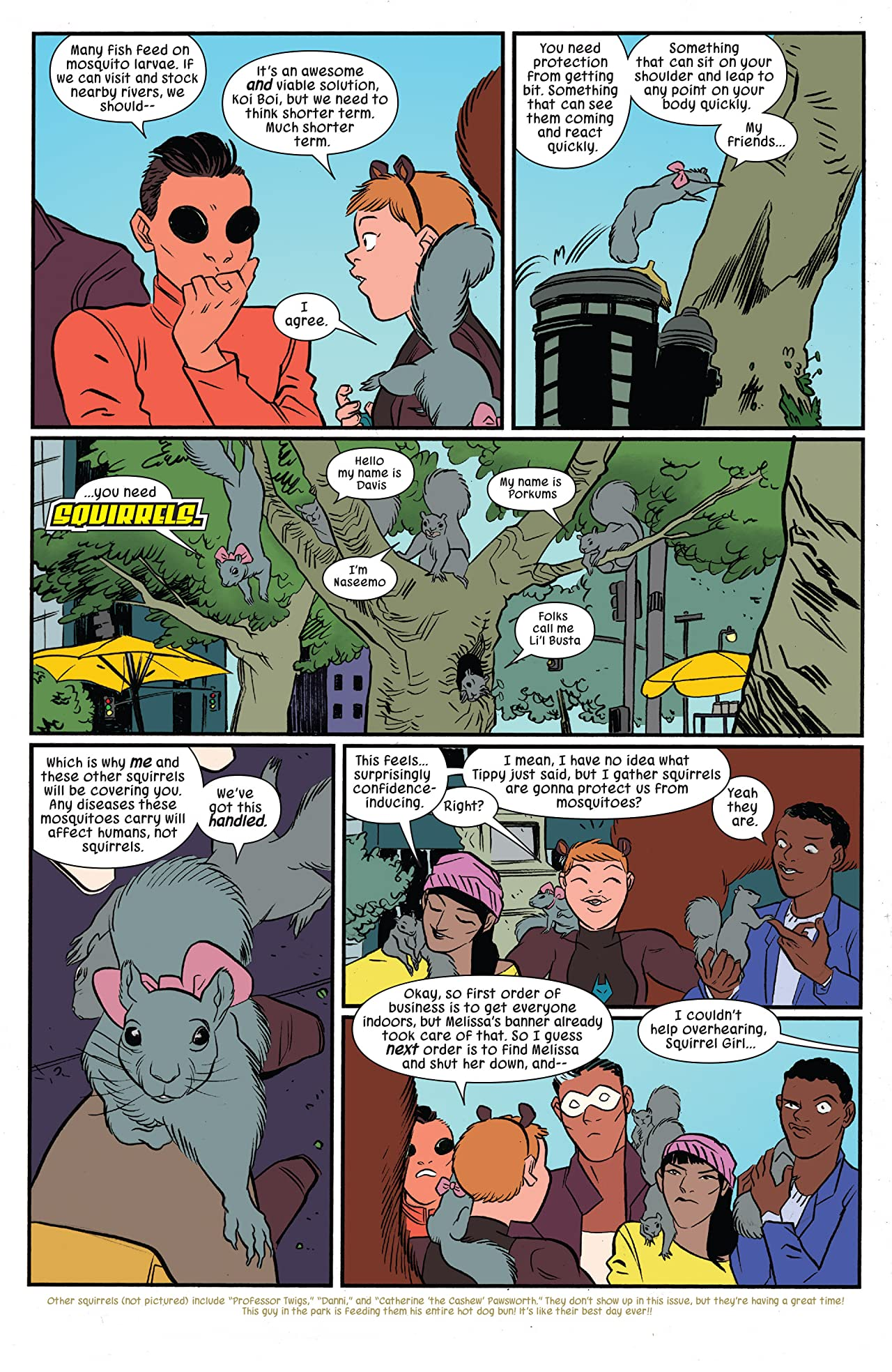 The Unbeatable Squirrel Girl (2015-) #20