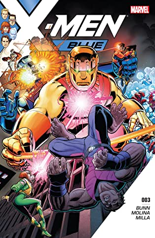 X-Men Blue (2017-2018) #3