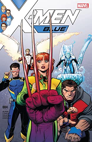 X-Men Blue (2017-) No.4