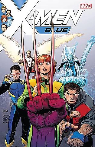 X-Men Blue (2017-2018) #4