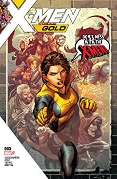 X-Men Gold (2017-2018) No.3