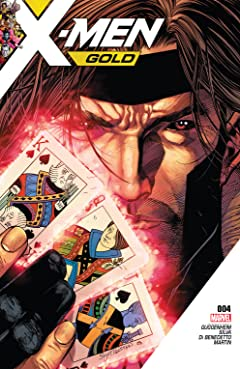 X-Men Gold (2017-2018) No.4