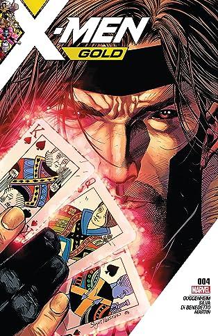 X-Men Gold (2017-2018) #4
