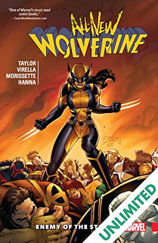 All-New Wolverine COMIC_VOLUME_ABBREVIATION 3: Enemy of the State II