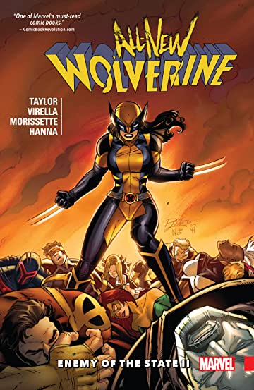 All-New Wolverine Vol. 3: Enemy of the State II
