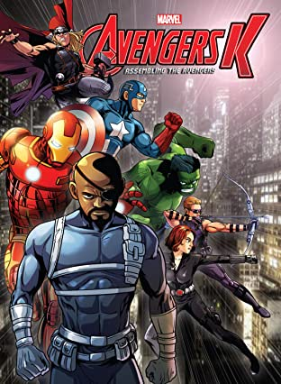 Avengers K - Book Five: Assembling The Avengers