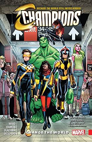 Champions Tome 1: Change The World