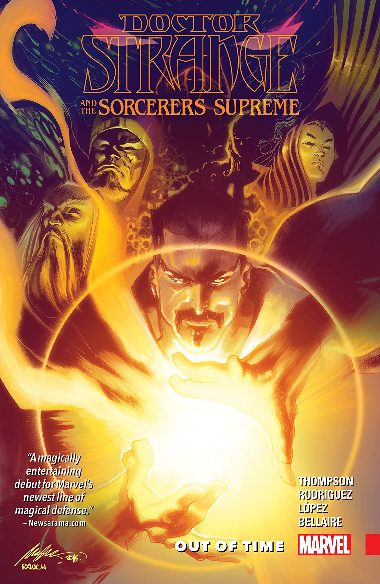 Doctor Strange and the Sorcerers Supreme Tome 1: Out Of Time