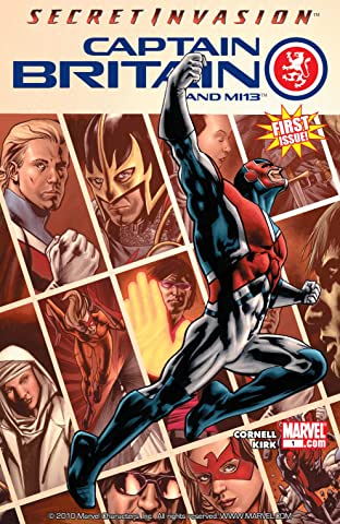 Captain Britain and MI: 13 No.1