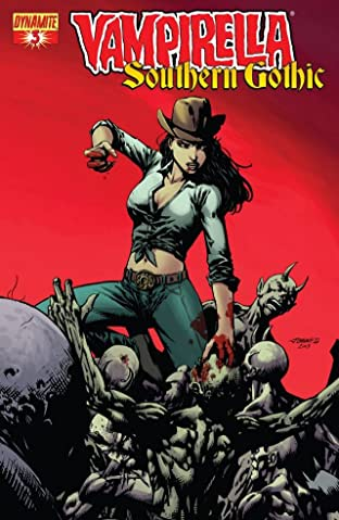Vampirella: Southern Gothic No.3 (sur 5)