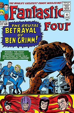 Fantastic Four (1961-1998) #41