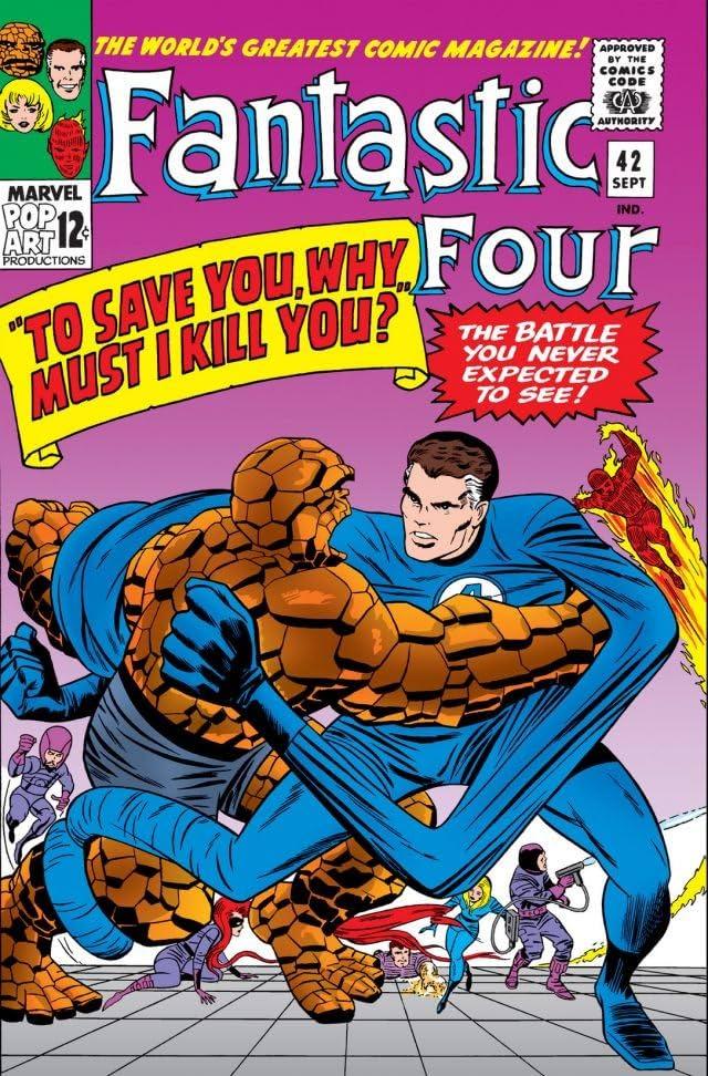 Fantastic Four (1961-1998) #42