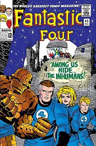 Fantastic Four (1961-1998) #45