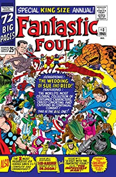 Fantastic Four (1961-1998) Annual No.3