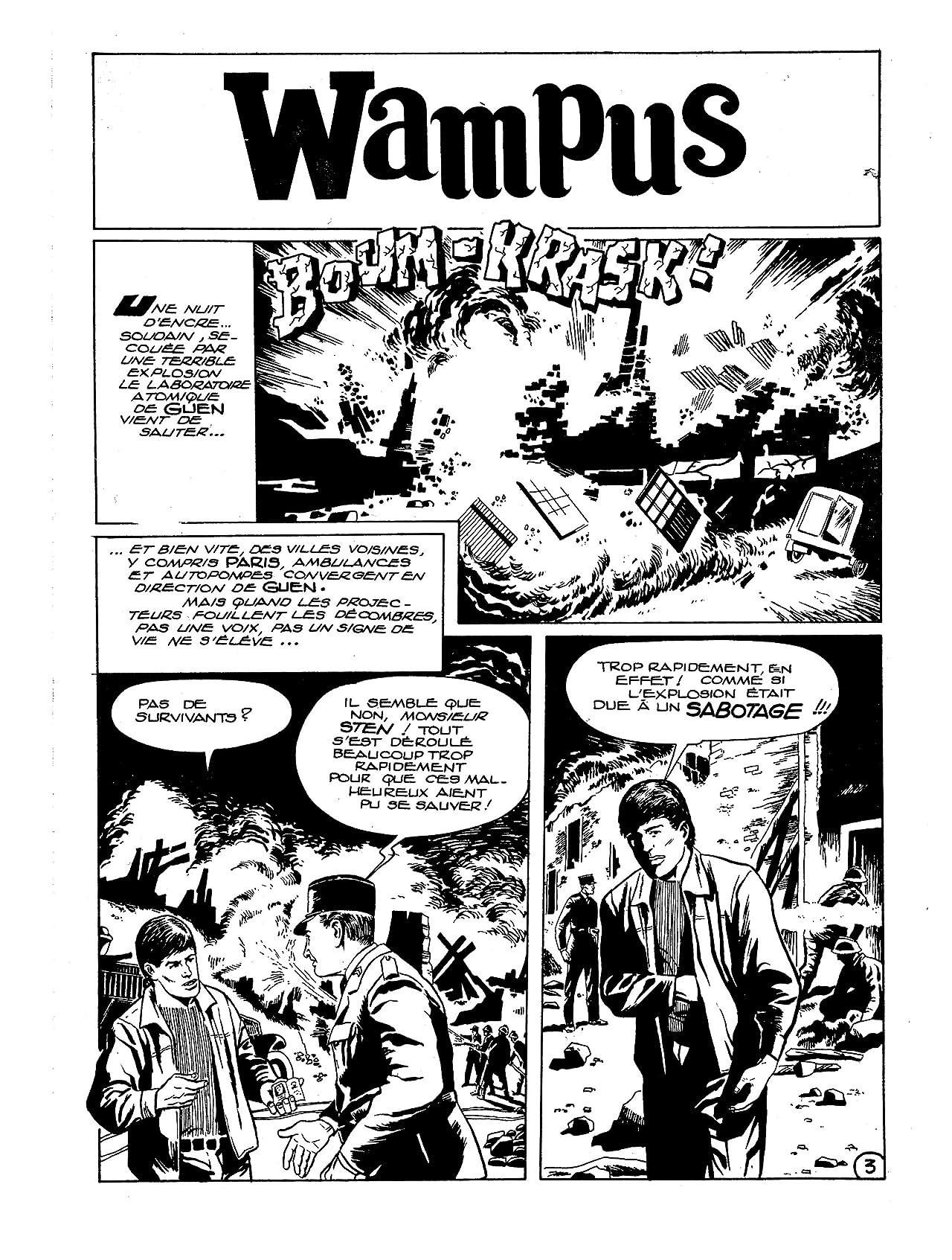 WAMPUS Vol. 1: La Mort vient des étoiles