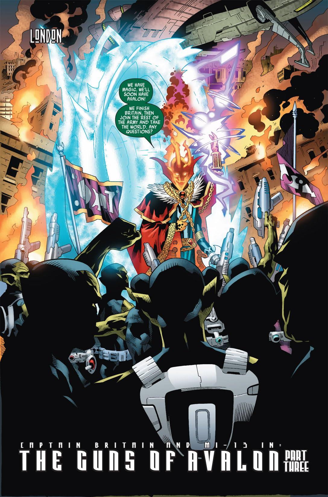 Captain Britain and MI: 13 #3