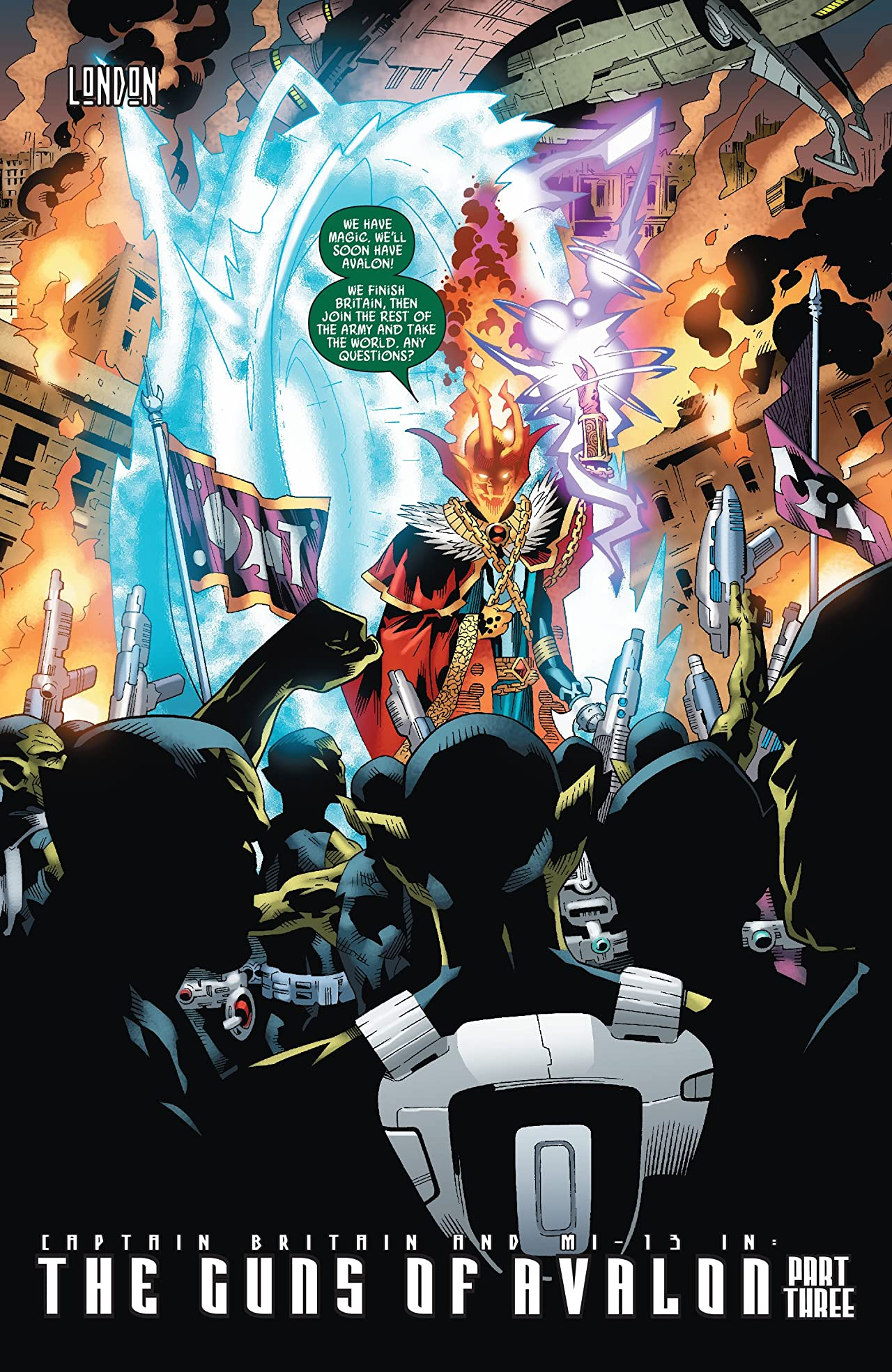 Captain Britain and MI: 13 #3