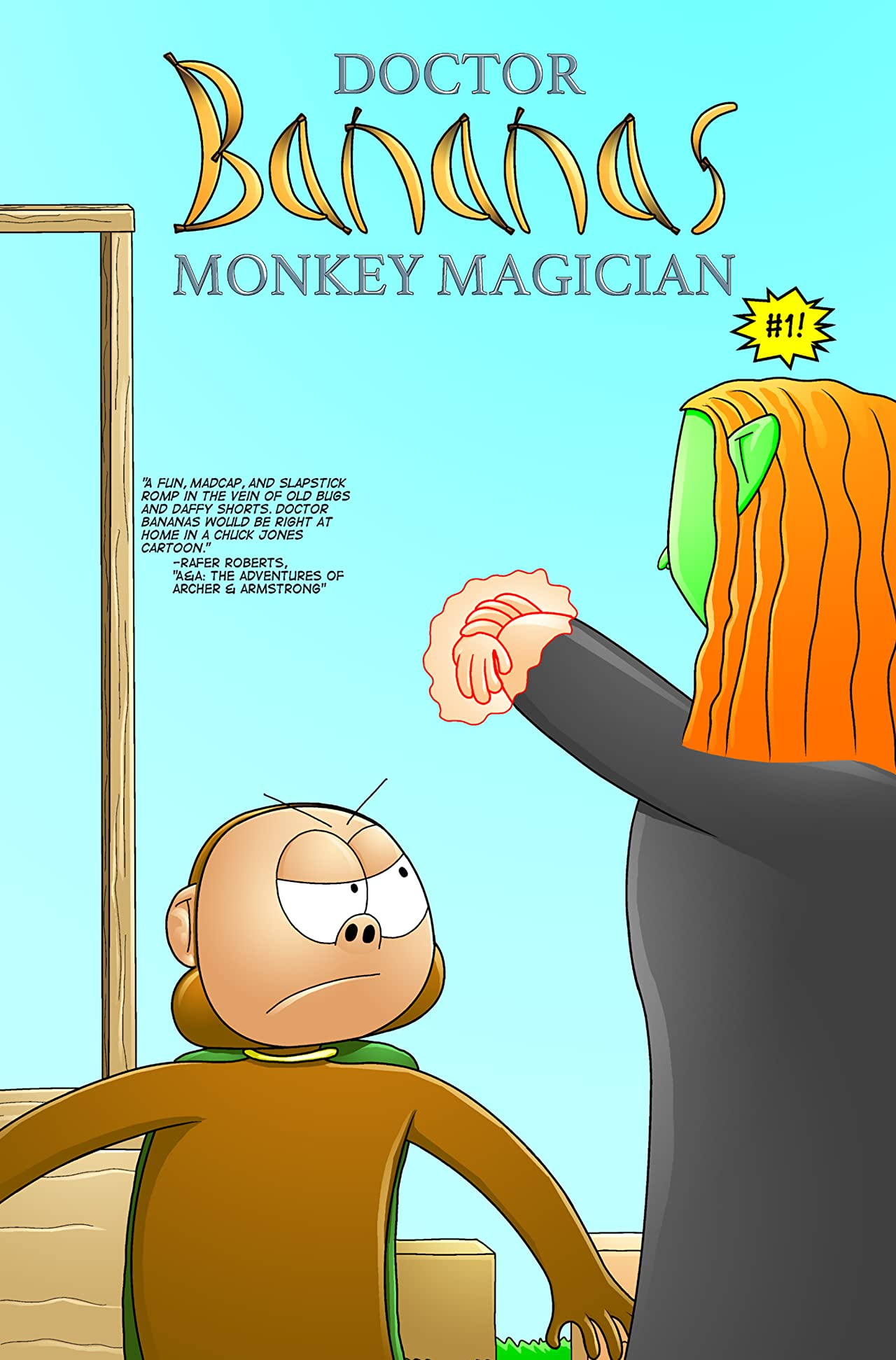 Doctor Bananas: Monkey Magician #1
