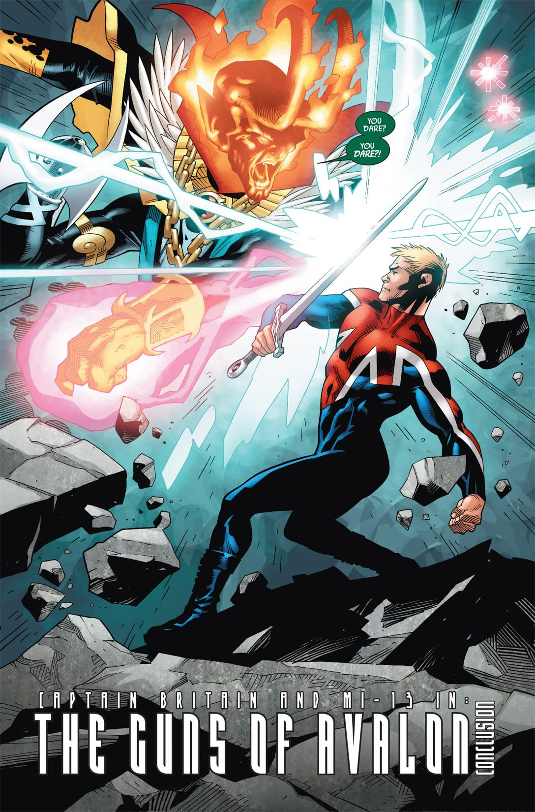 Captain Britain and MI: 13 #4