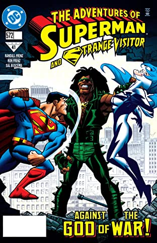 Adventures of Superman (1986-2006) #572