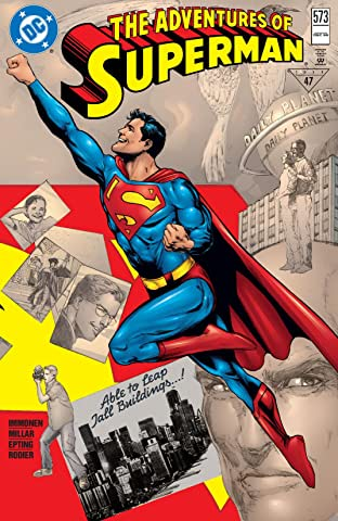 Adventures of Superman (1986-2006) #573
