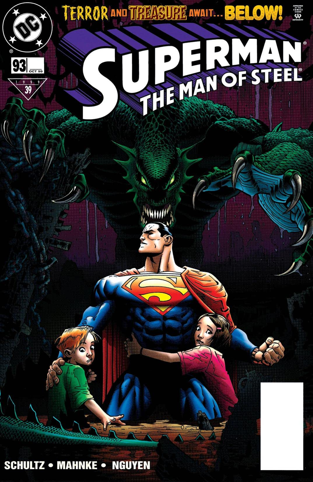 Superman: The Man of Steel (1991-2003) #93