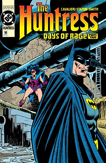 The Huntress (1989-1990) #18