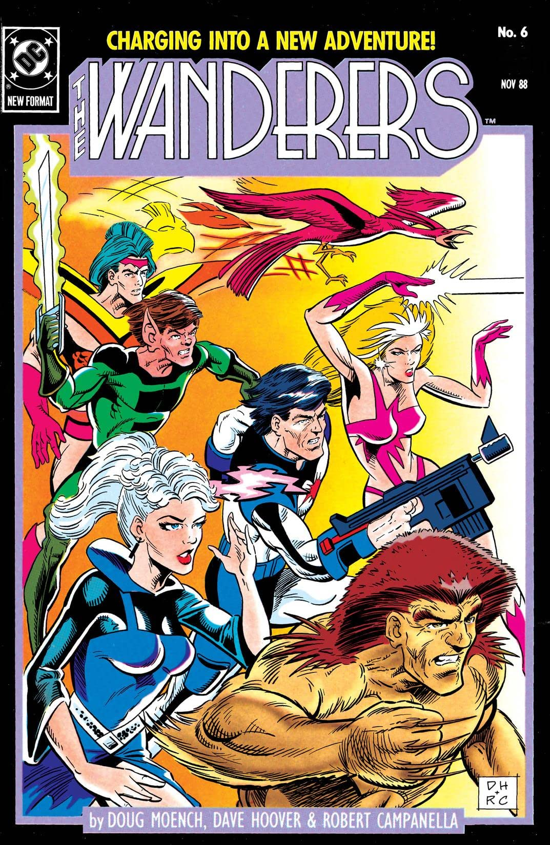 The Wanderers (1988-1989) #6