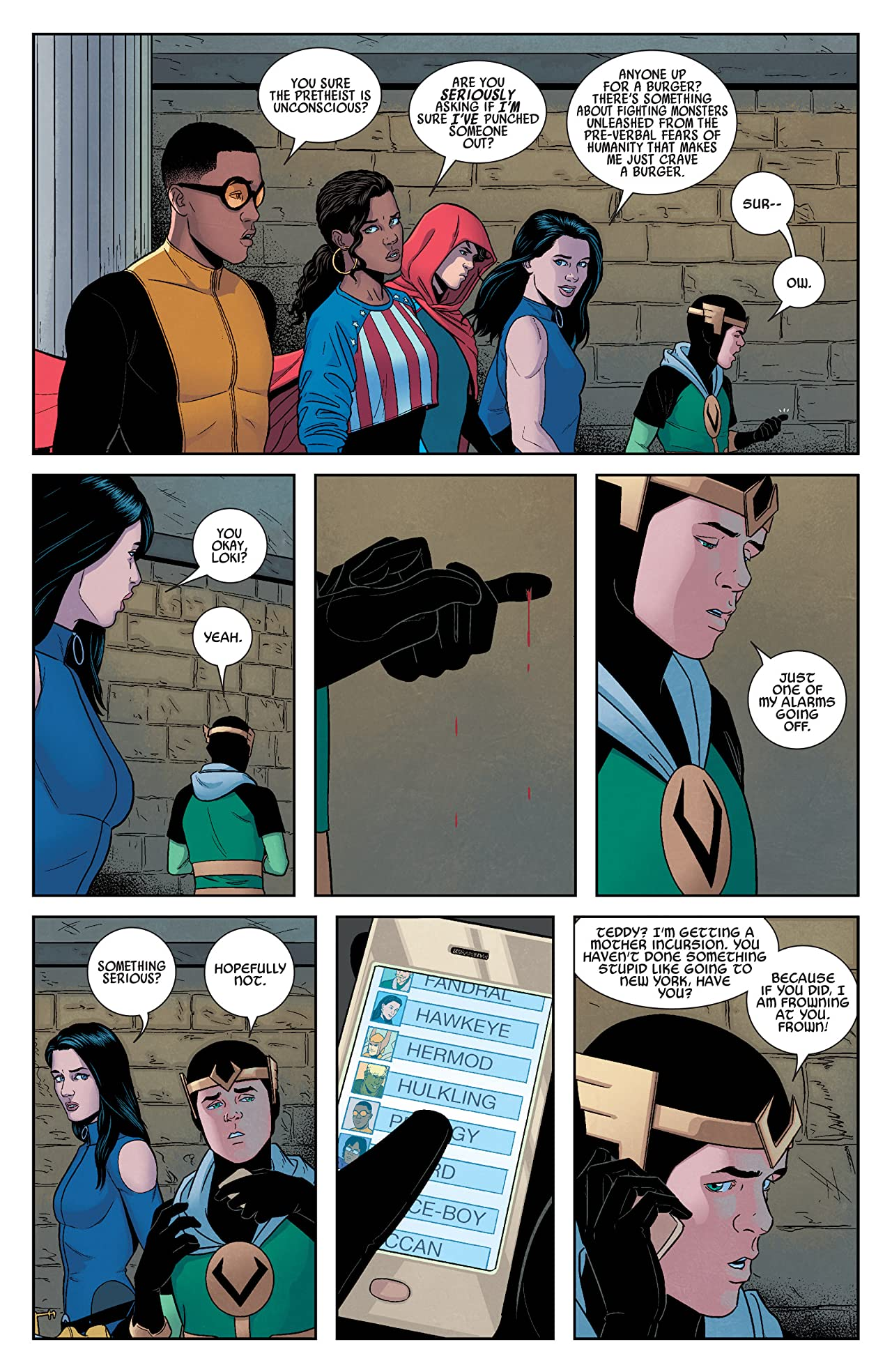Young Avengers (2013) #11