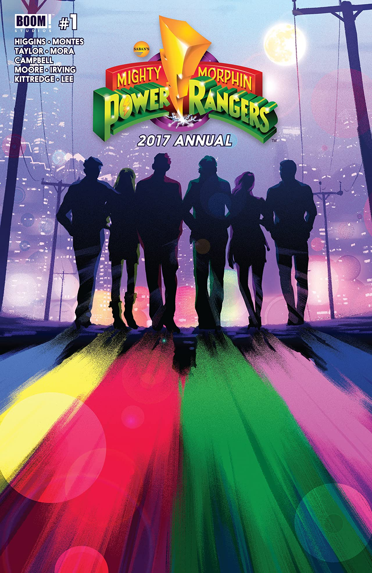 Mighty Morphin Power Rangers 2017 Annual
