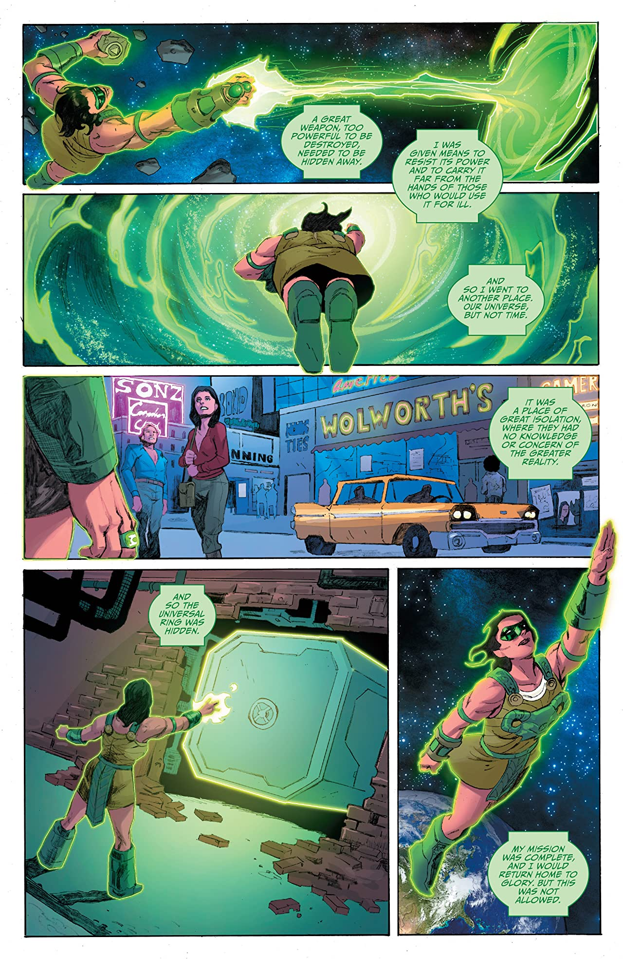 Planet of the Apes/Green Lantern #4 (of 6)