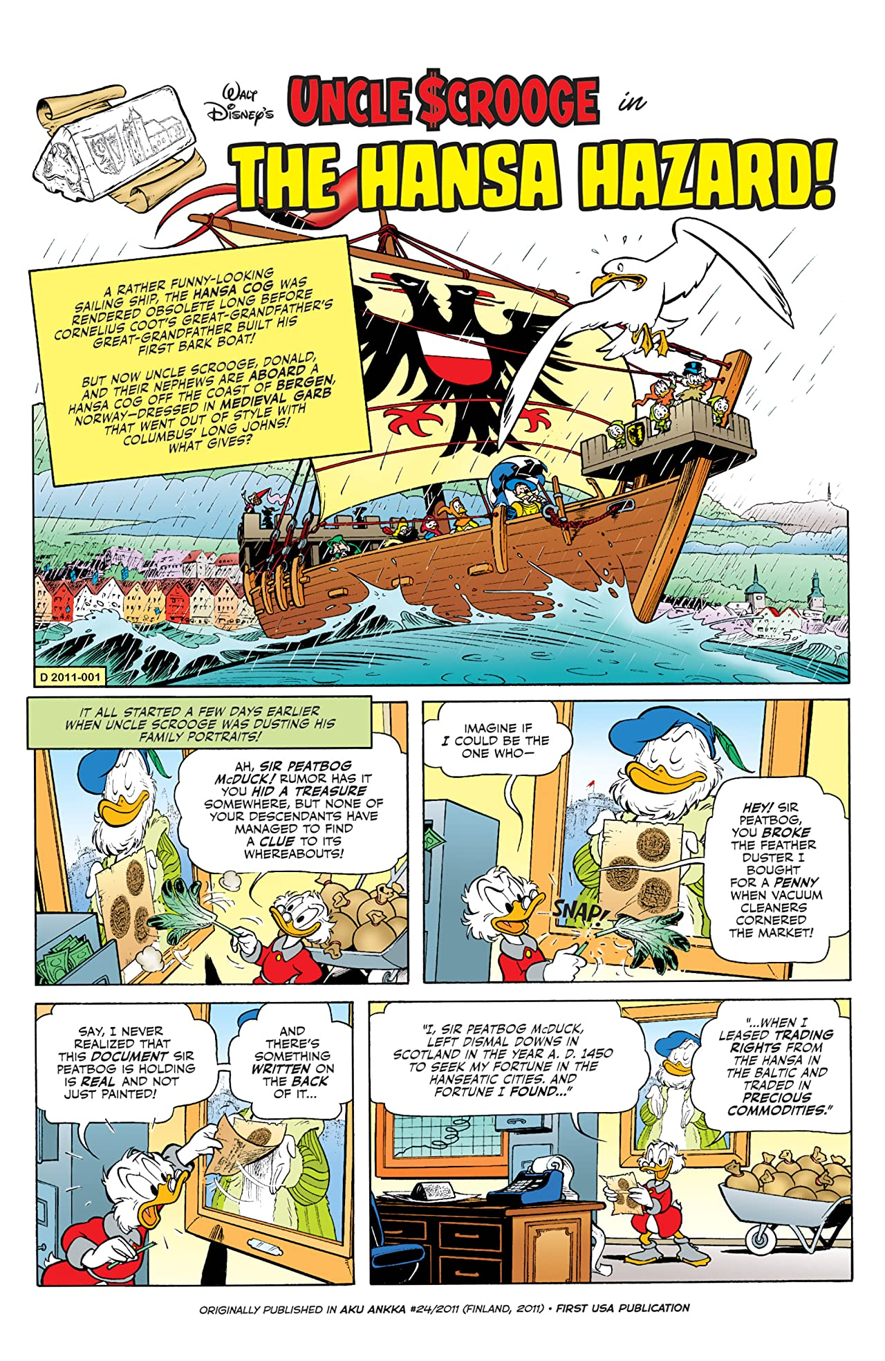 Uncle Scrooge #25